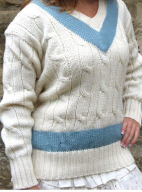 Cambridge Blue's Cricket Sweater