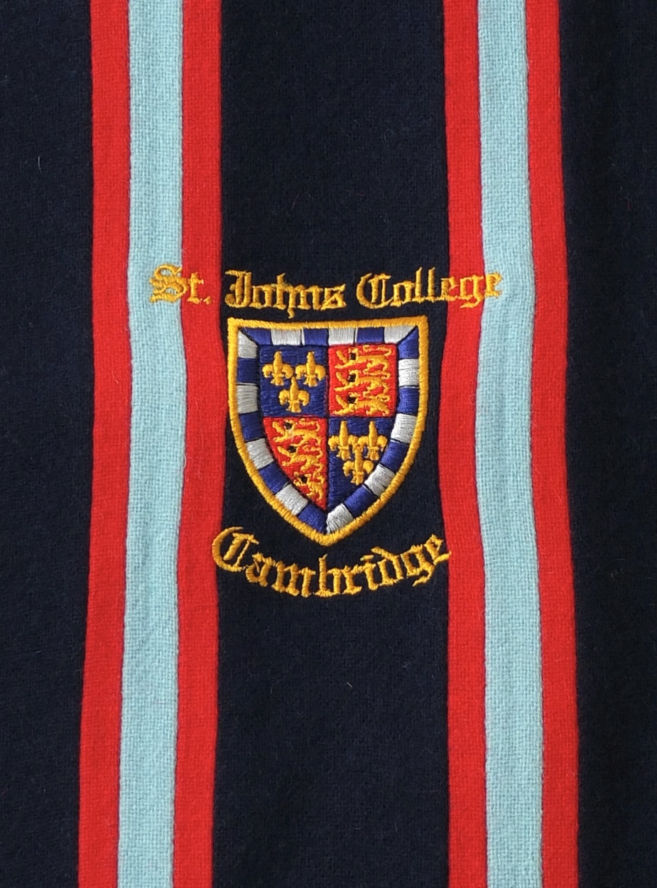 st johns crested scarf amies
