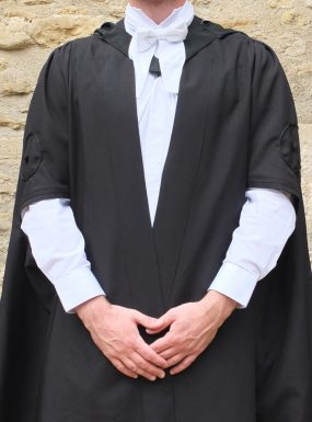 Ex-Rental M. Math Gown