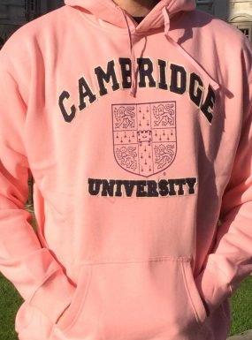Pink Applique & Print Hoody – Offer