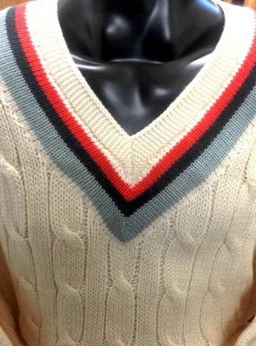 Ladybirds Tennis Club Cable Knit
