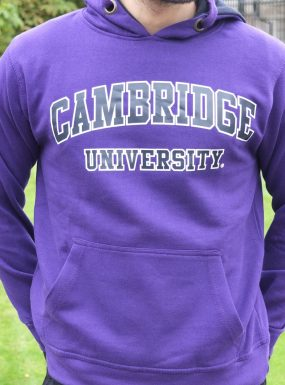 Classic Cambridge Hoody, Purple XL – SALE