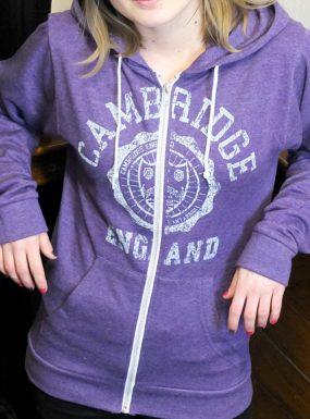 Cambridge 'Seal' Zip Hoody – SALE