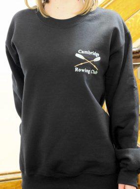 Rowing Sweatshirt Black XXL – SALE