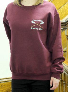 Rowing Sweatshirt Maroon XL – SALE