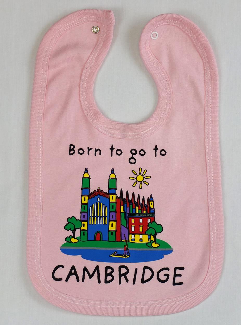 Go To Www Bing Com1 Microsoft Way Redmond: 'Born To Go To Cambridge' Baby Bib