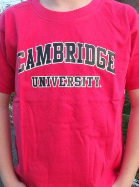 Children's Classic Cambridge University T-Shirt