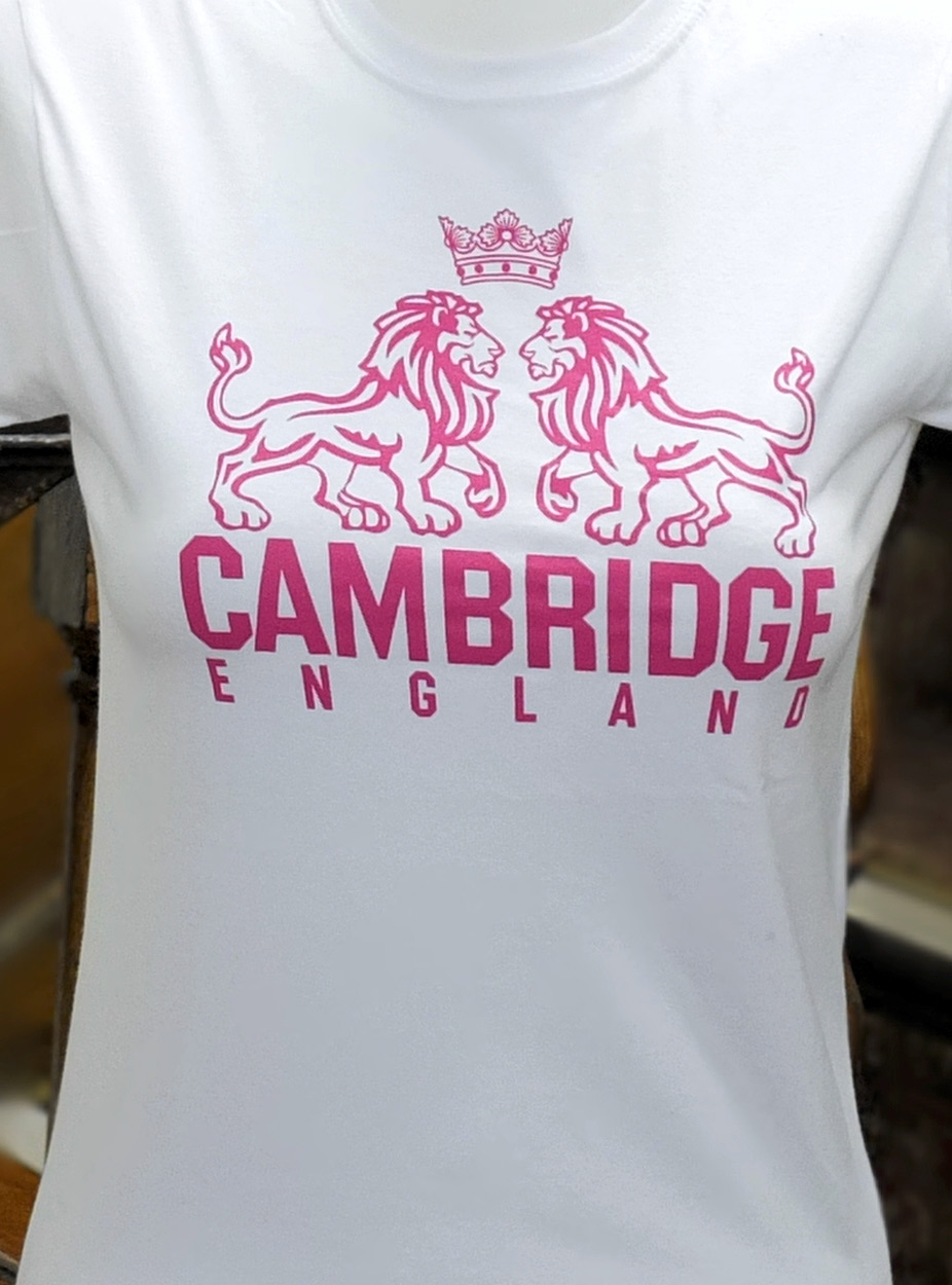 How To Frame A Shirt >> Ladies Cambridge Lions Skinny t-shirt - Ryder & Amies