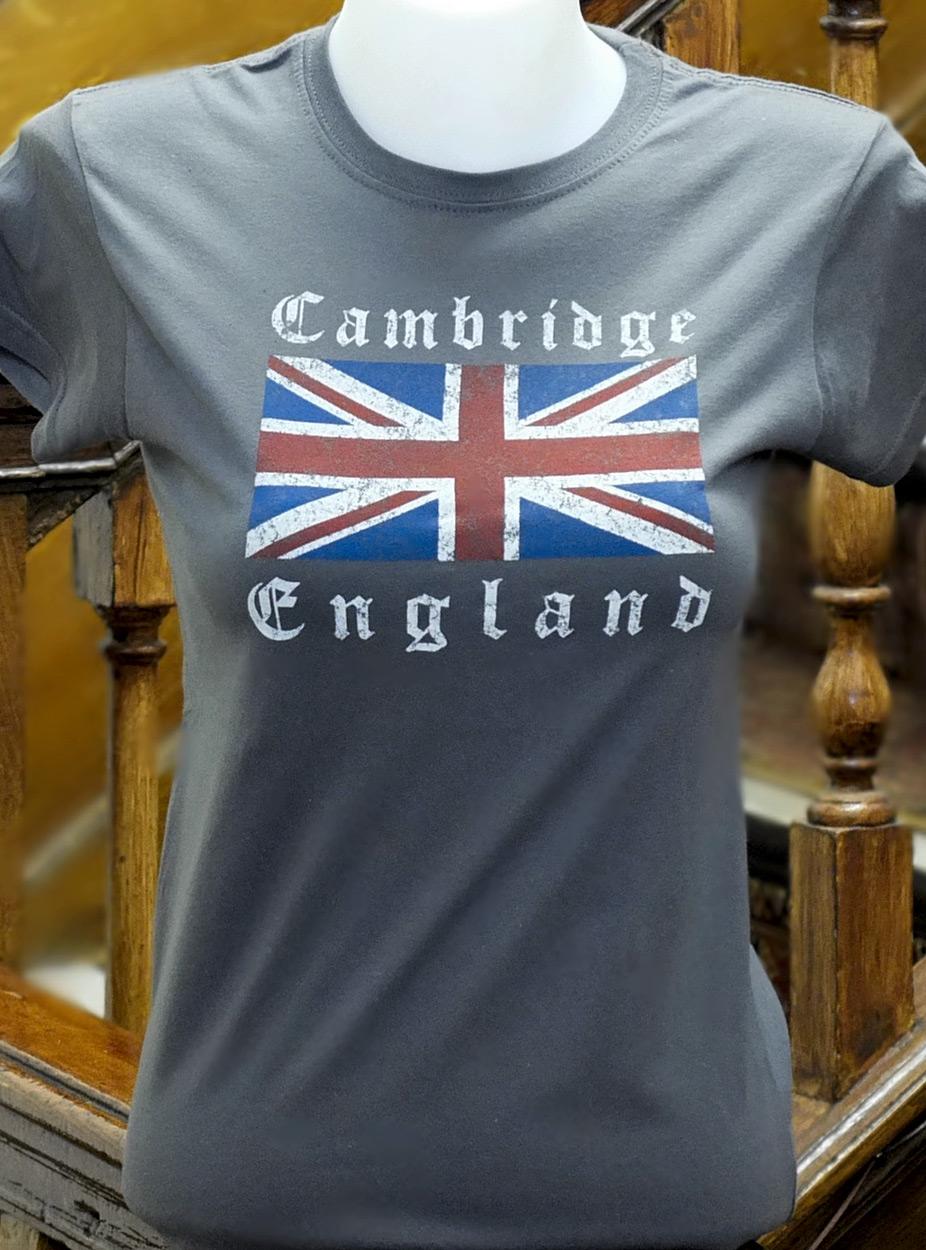 bdec7765e Ladies Union Jack Skinny T-shirt - Ryder & Amies