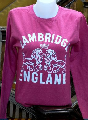 Ladies Cambridge Lions Sweatshirt, Pink – SALE