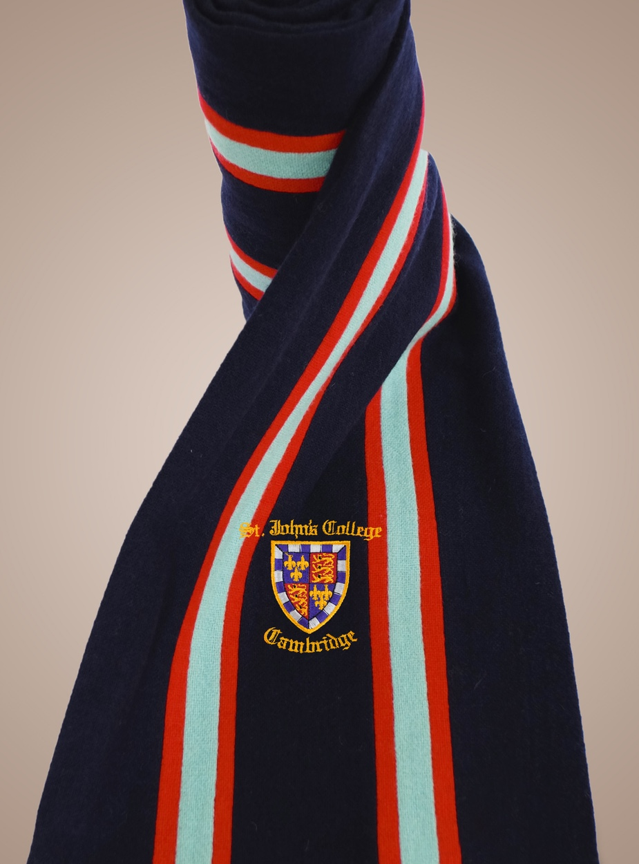 St Johns Crested Scarf - Ryder & Amies