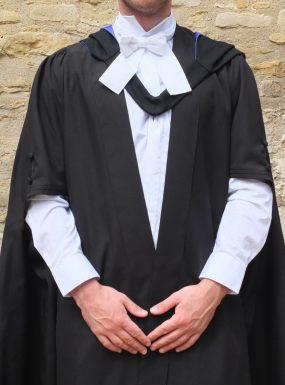 Ex-Rental M. Phil Gown
