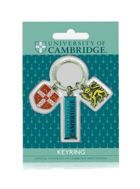 Lion, Shield & Bar Keyring