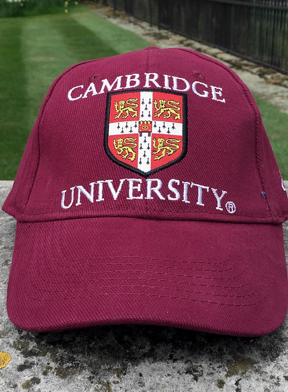 Official University of Cambridge Cap - Ryder   Amies 3987771a128