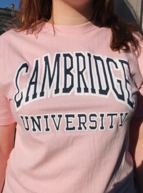 Classic Cambridge T-shirt, Pink – SALE