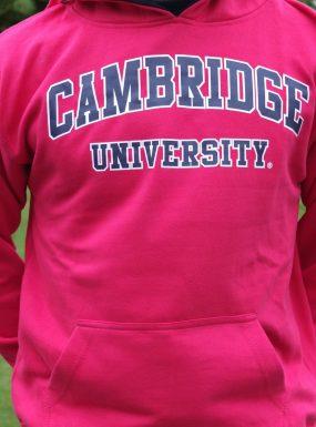 Classic Cambridge Hoody, Hot Pink XL- SALE