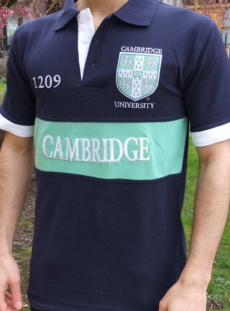 Design t shirt universiti - Cambridge Heritage Polo Shirt