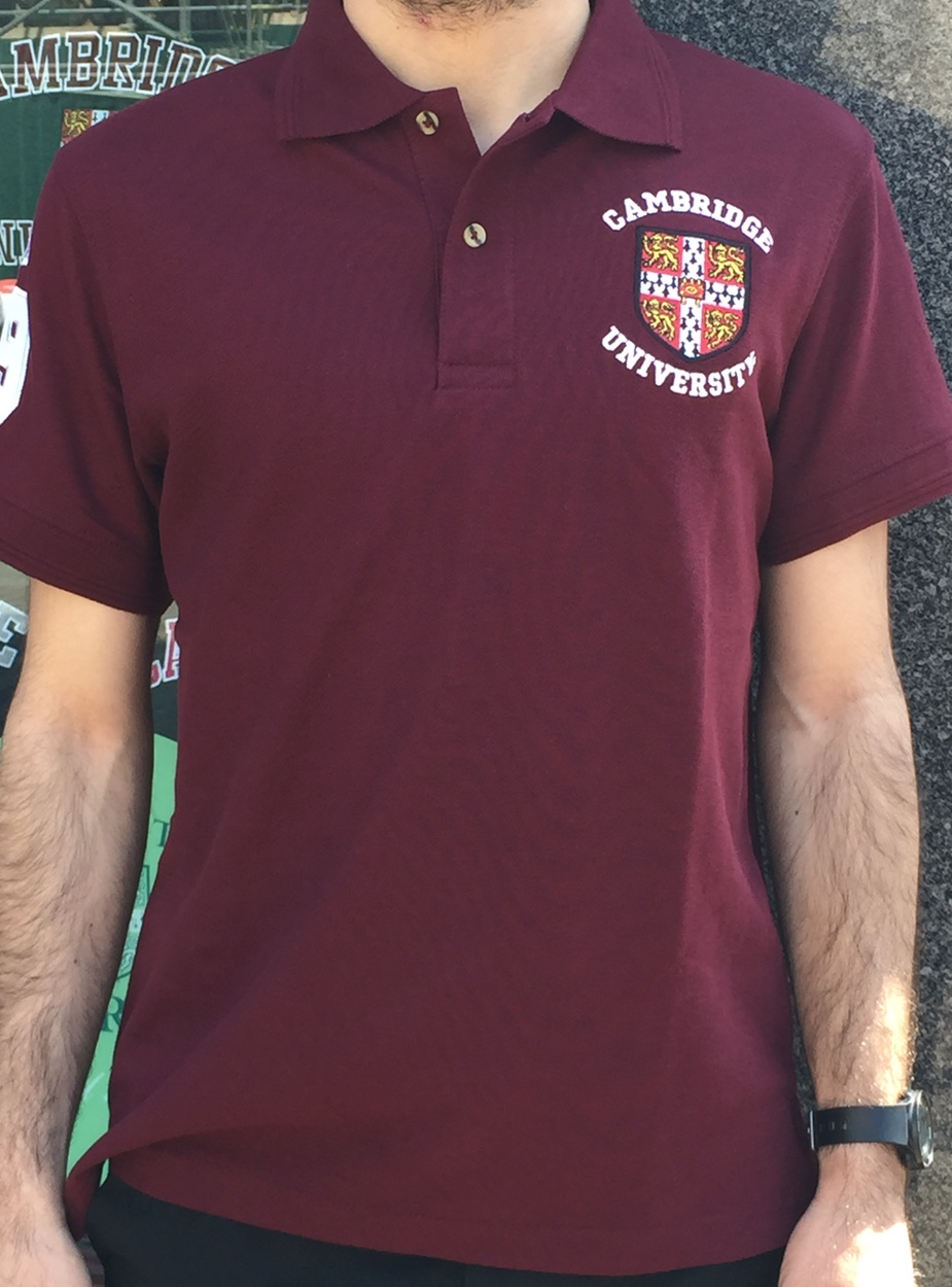 the best attitude 8cc05 f30eb Official University of Cambridge Polo Shirt