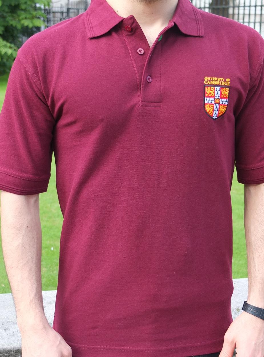official university of cambridge polo shirt