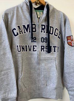 Official Cambridge University Appliqué Zip Hoody