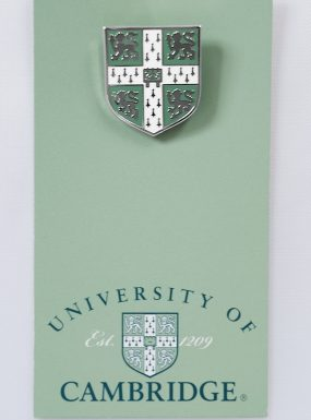 University of Cambridge Blue Lapel Pin