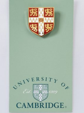 University of Cambridge Red Lapel Pin