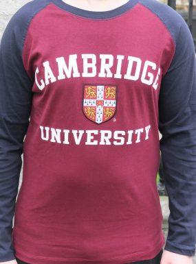 Cambridge Baseball T-Shirt – SALE
