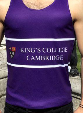 King's College Running Vest – SALE
