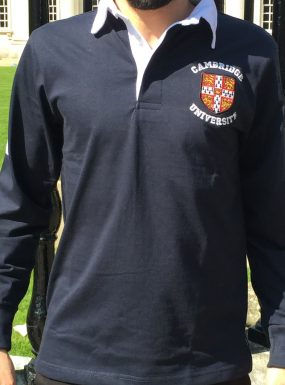Cambridge University Small Crest Rugby Shirt