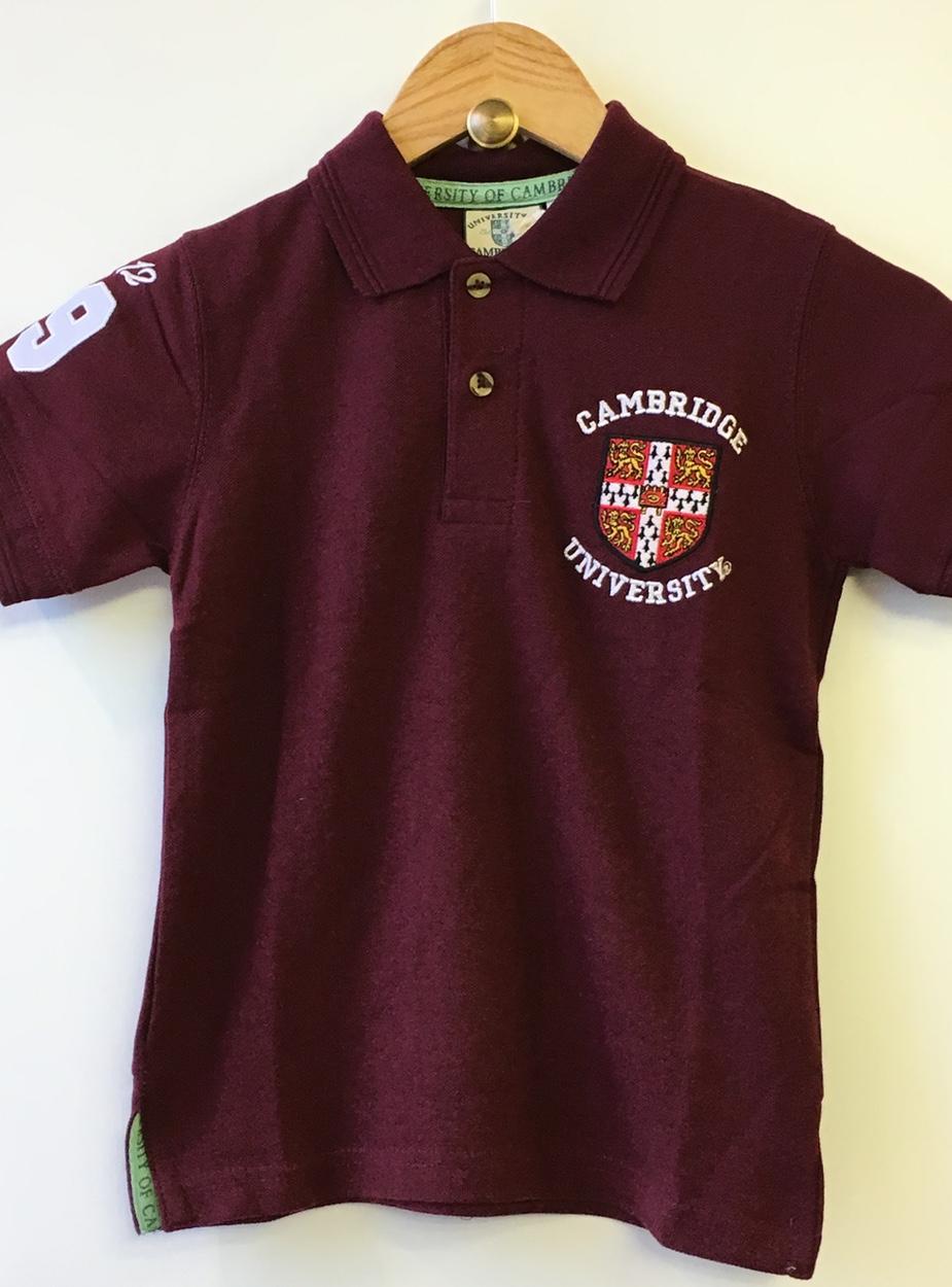 innovative design 28a6b 5f55d Children's University Crest Polo Shirt