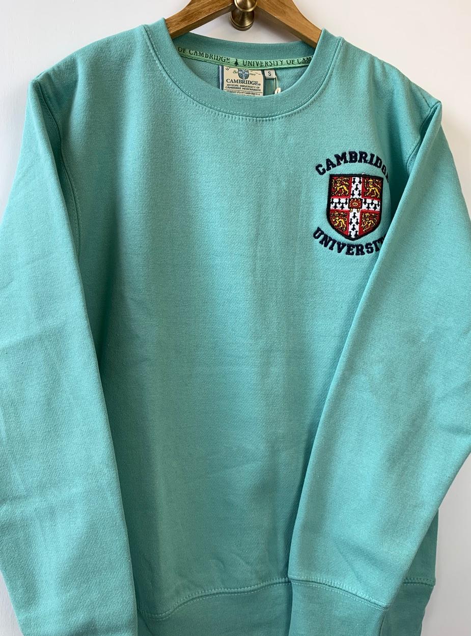 Official Cambridge University Zip Hoodie Navy